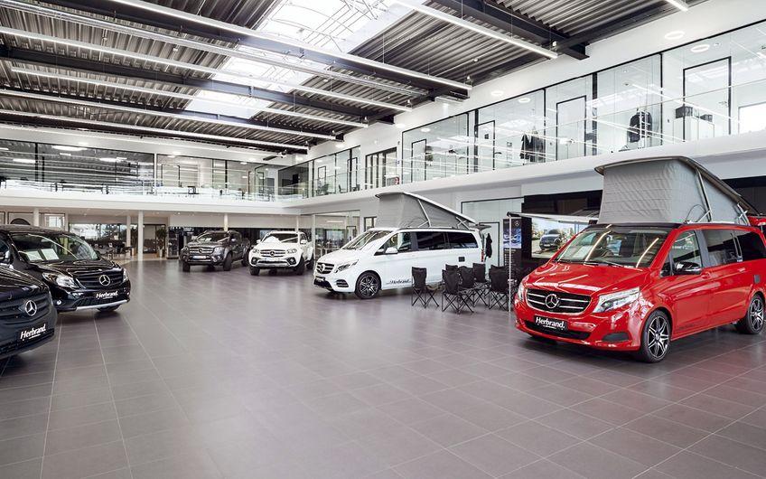 Herbrand-Gruppe: Neues Mercedes-Nutzfahrzeug-Center