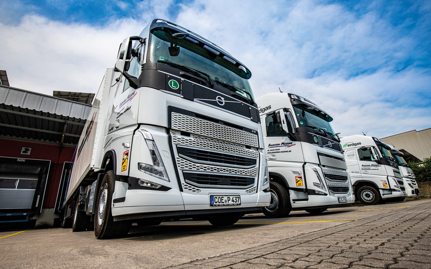 Spedition Bernhard Messing: Kraftvolle Logistik-Kompetenz