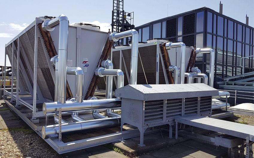 Erneuerung von Kälteerzeugern: Sanierung der Kälteerzeugungsanlagen  der Stadtsparkasse Mönchengladbach