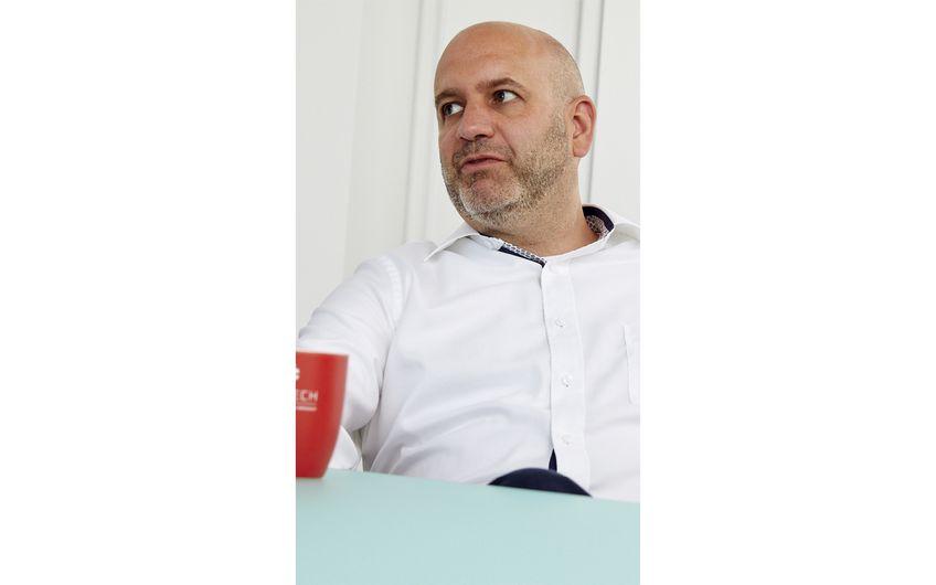André Nemmertz, Geschäftsführer für Vertrieb und Projektgeschäft
