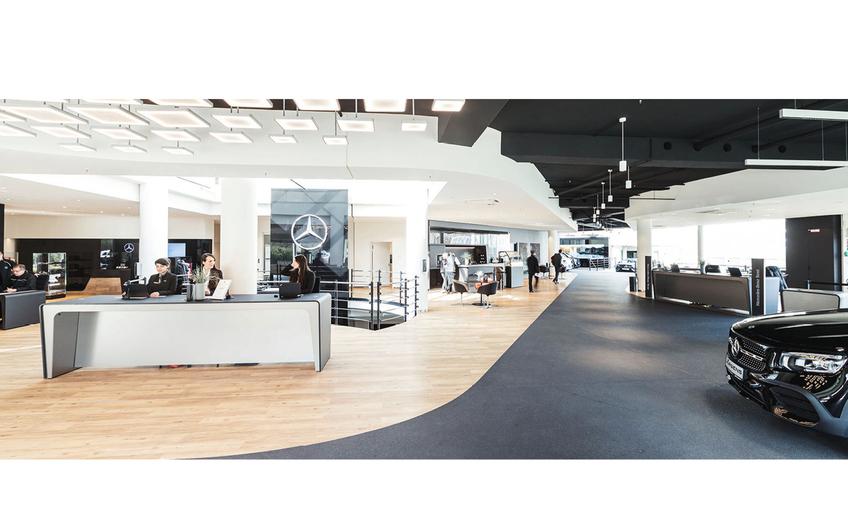 Das nach neuesten Standards umgebaute Verkaufshaus in Hagen