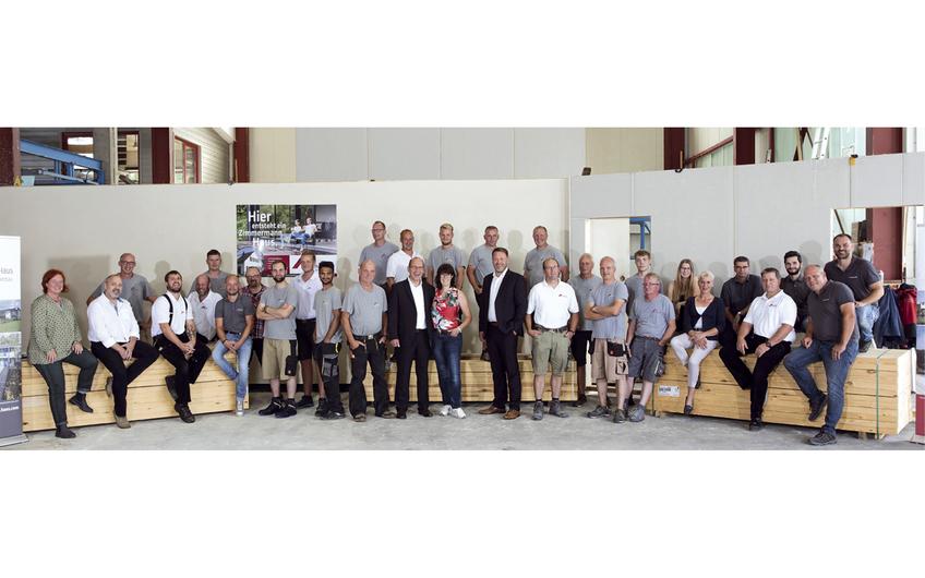 Das Team von Zimmermann Haus