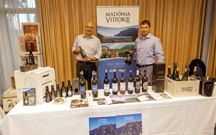 Dr. Luca Fincato und Franco Olivetti und Weingut Madonna delle Vittorie (Foto: Jan Heinze)