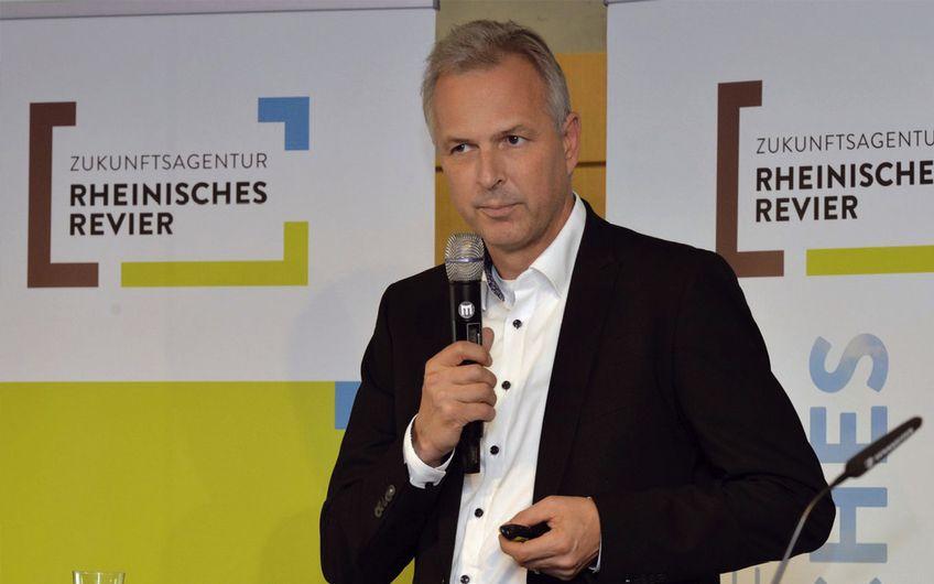 Dirk Brügge, Kreisdirektor Rhein-Kreis Neuss und Vorsitzender des Revierknotens Infrastruktur und Mobilität (Foto: Andreas Schmitter (ZRR))