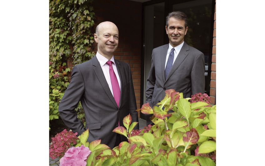 Ludger Fangmann und Dirk Bottermann (Geschäftsführer) (v.l.)