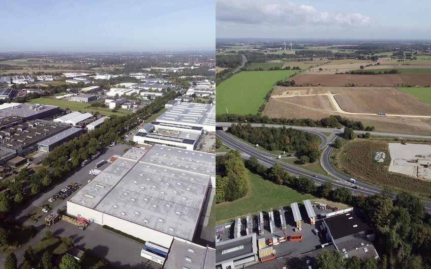 Industriegebiet Wasserfuhr: Sahnestückchen an der Autobahn