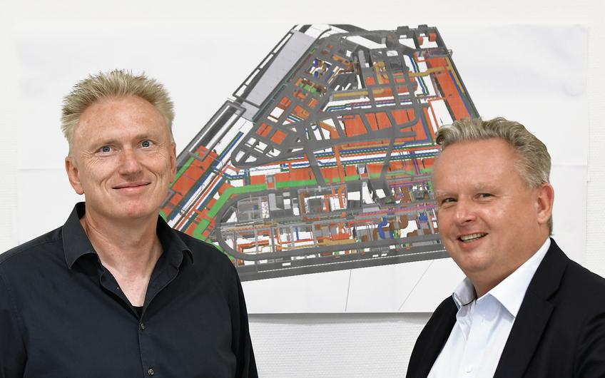 Heinrich Steeenheuer und Ralf Dohrmann (v.l.) (Foto: Gerd Lorenzen)