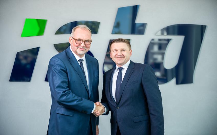 Thomas Zinnöcker (li.) wird zum 01.06.2021 die Leitung von Ista an Dr. Hagen Lessing (re.) übergeben