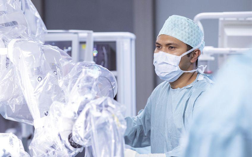 Künstliche Intelligenz unterstützt den Operateur Foto: Alfried Krupp Krankenhaus