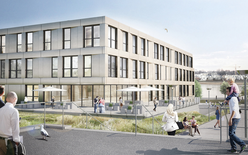 Gesundheitszentrum am Phönixsee in Dortmund, Fertigstellung 07/2021