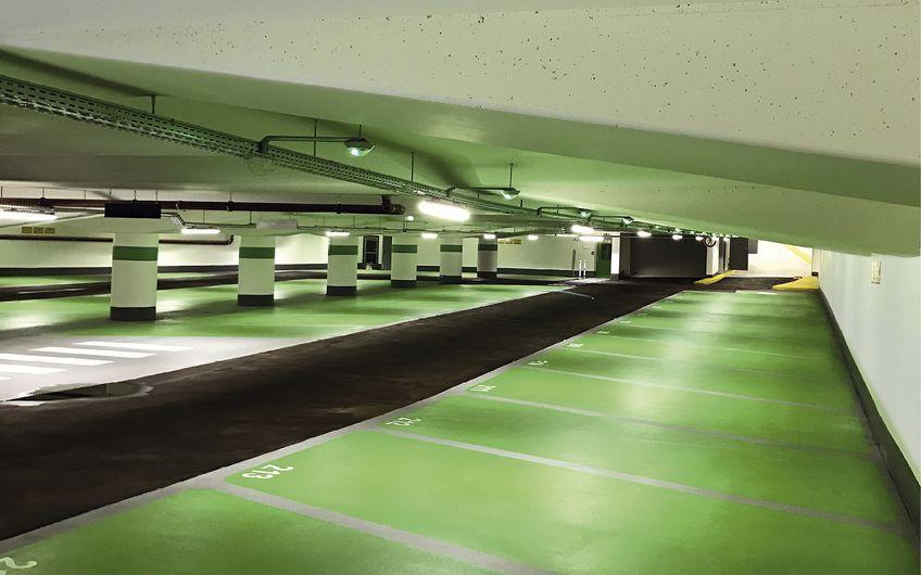 Einer der Tätigkeitsschwerpunkte der Massenberg GmbH ist die Sanierung von Parkhäusern und Tiefgaragen