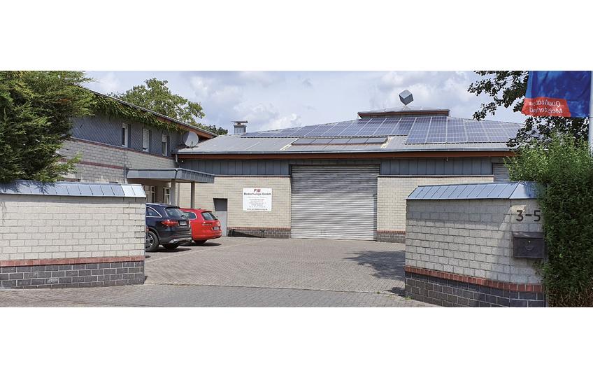 Firmensitz in Geldern am Niederrhein