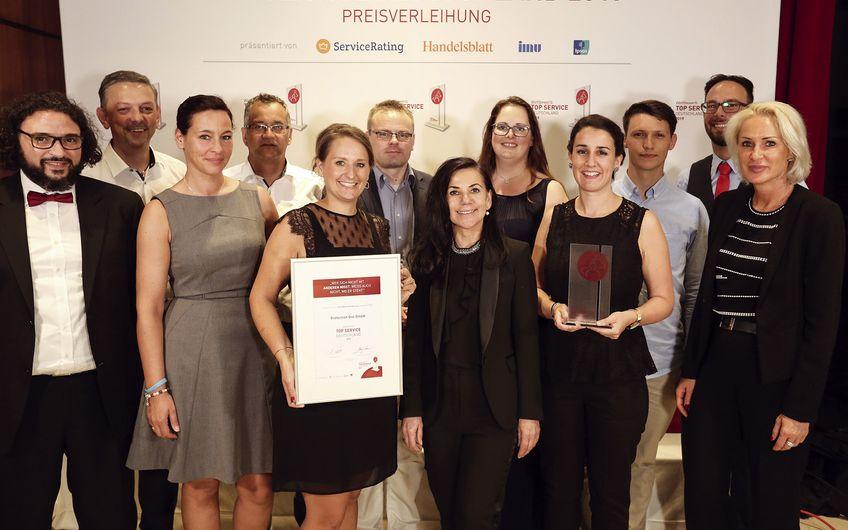 """Protection One: Erster Platz bei  """"Top Service Deutschland 2019"""""""