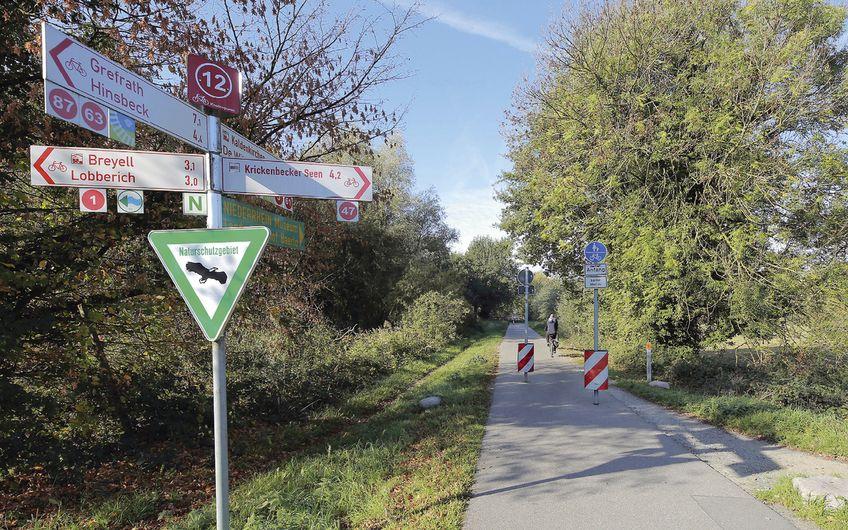 Radfernwege verbinden den Kreis Viersen mit dem Umland