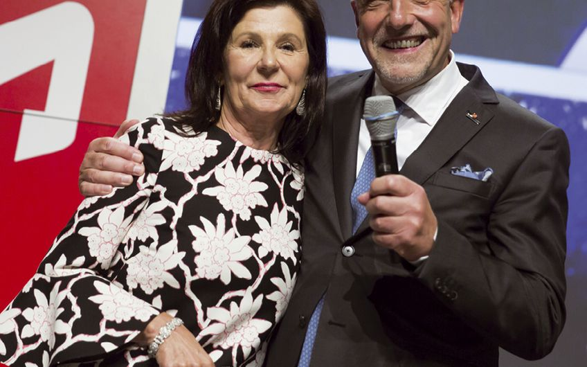 Wolfgang und Renate Fritsch-Albert sorgen durch ihre Tätigkeit als Aufsichtsräte für Kontinuität im Unternehmen