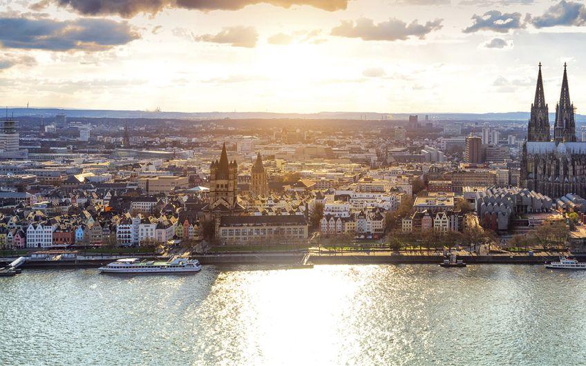 Von Köln über Bonn nach Aachen