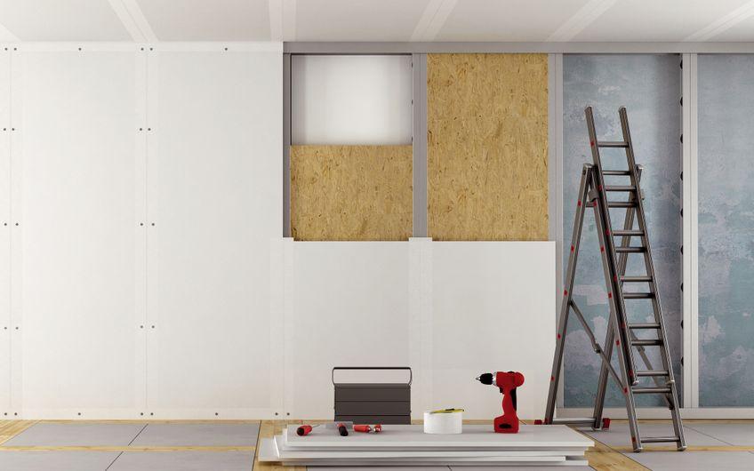 Kreativer Innenausbau mit leichten Konstruktionen