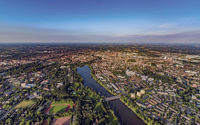 Serie – Wirtschaft im Münsterland, Teil 5: Stadt Münster: Stadt Münster – Wissenschaft und Lebensart