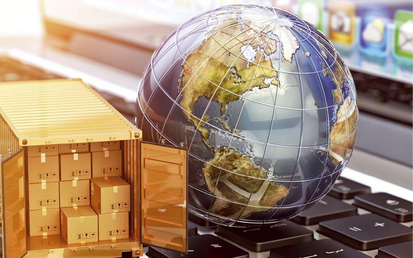 Logistikunternehmen bieten weltweit ihren Service an (© Cybrain–stock.adobe.com)