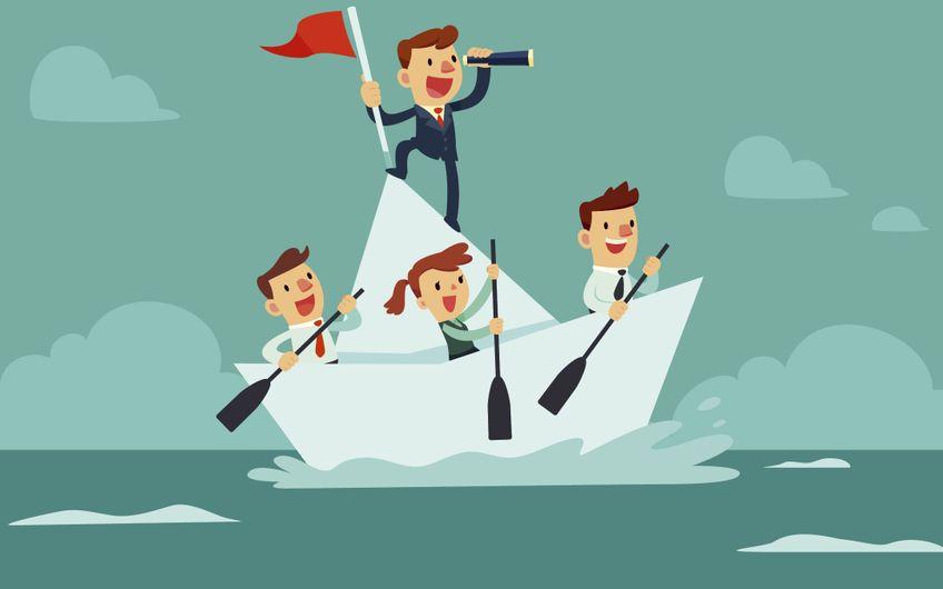 Neue Mitarbeiter ins Boot holen