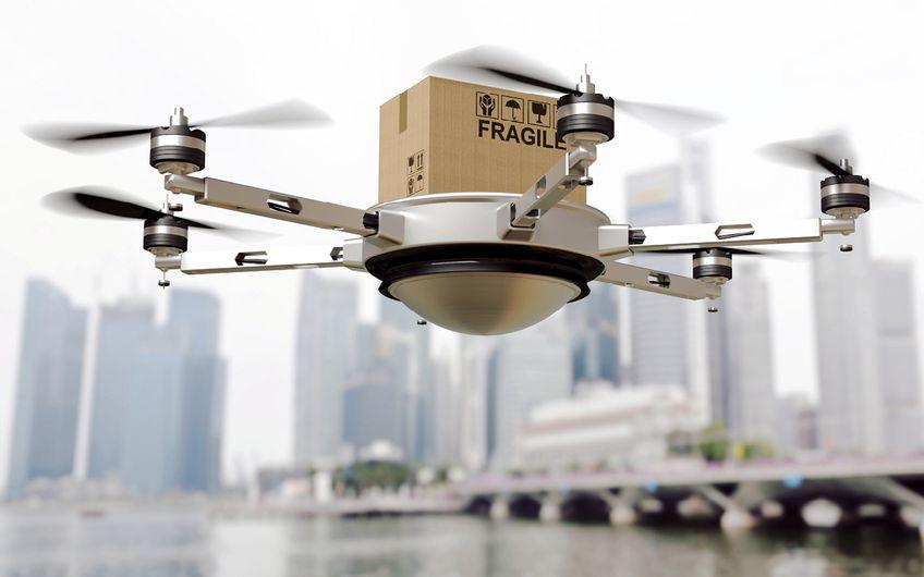 Zukunftsmusik – der Versand via Drohne in Großstädten ist unwahrscheinlich (Foto: © tiero – stock.adobe.com)