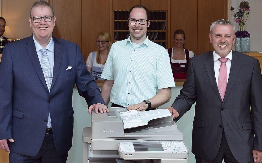 Jörg Metzner Kopier und Telefax Systeme: Starke Partner seit sieben Jahren