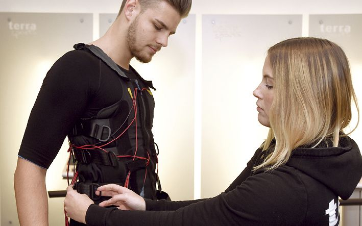 Jede Kontraktion eines Muskels wird durch elektrische Impulse unterstützt