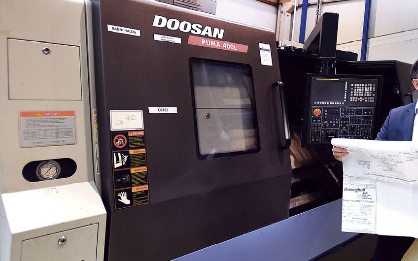 Leyendecker & Hollmann ist ein starker Partner für gepflegte Werkzeugmaschinen