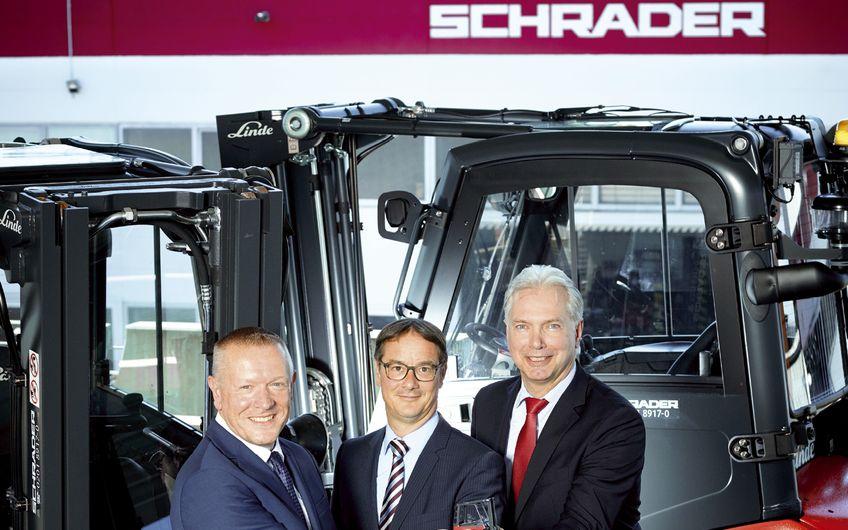 Schrader Industriefahrzeuge: Ihre Intralogistik-Profis im Revier