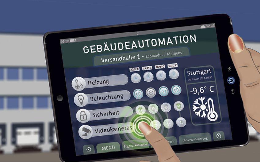 Gebäudeautomation: Intelligente Gebäudevernetzung