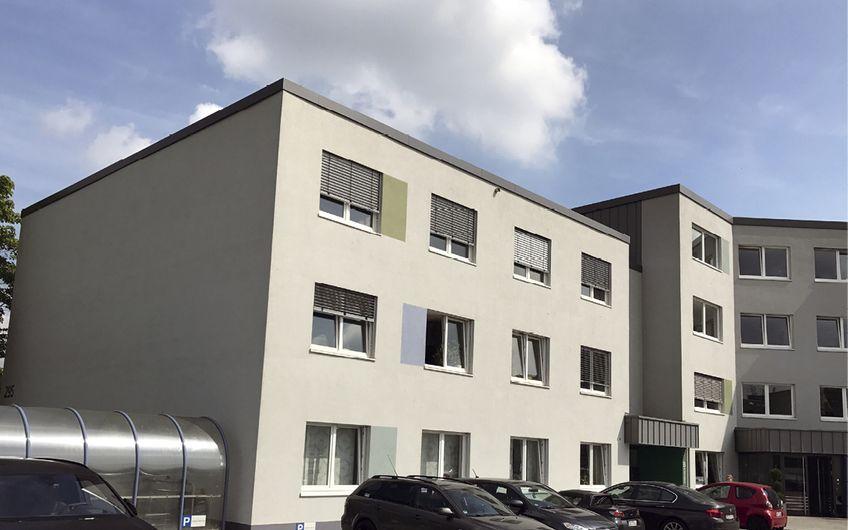 Heute arbeitet das 12-köpfige Bredo-Team in diesem modernen Gebäude auf dem Westring 295 in Herne.