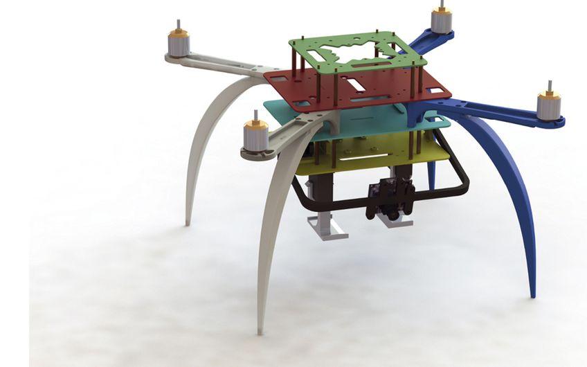 Drohnen-Forschung bei Ford