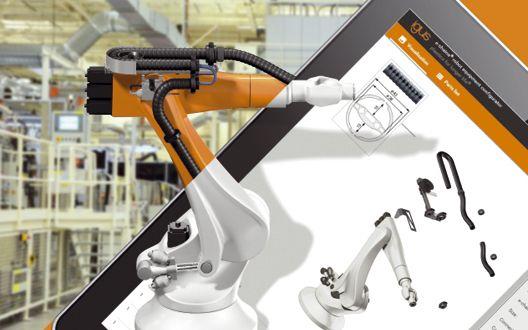 Igus: Für 400 Modelle die richtige Roboter-Energieführung finden