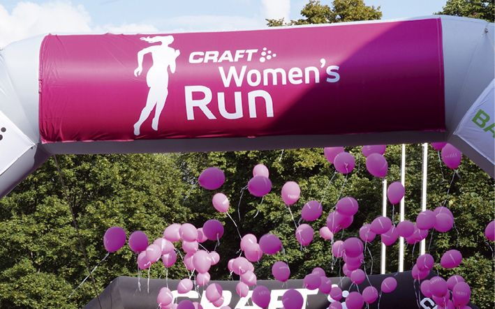 """Die Laufserie der Zeitschrift """"Runner's World"""" zieht  jährlich mehr als 20.000 Teilnehmerinnen an die Startlinien"""