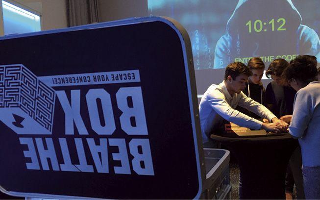 Bürogolf Team GbR: Teambuilding-Event Beat the Box