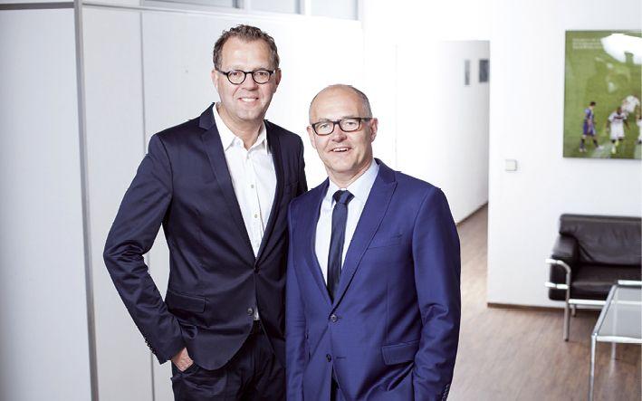 Die Geschäftsführer Dr. Thomas Waning und Hendrik Waning (v.l.)
