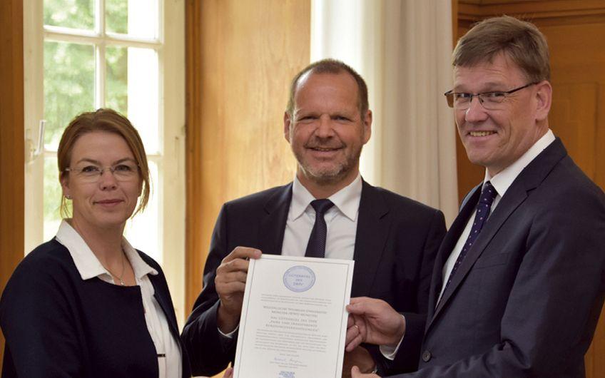 Westfälische Wilhelms-Universität Münster: WWU erhält Gütesiegel