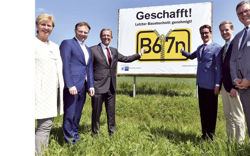 Unternehmerinitiative Bundesstraße 67: Happy End