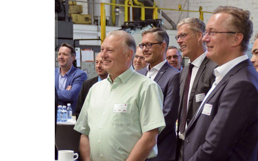 Aktive Unternehmen im Westmünsterland e.V.: Breakfast bei Lichtgitter