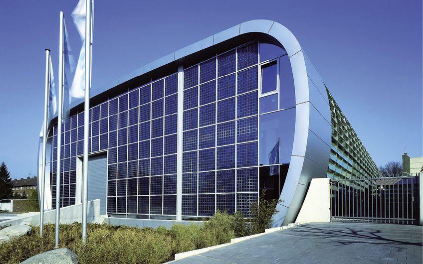 Highlight: die Hauptverwaltung  von Grunewald Hightech Products