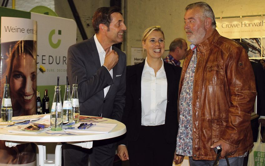 Ralf Schlutius, Leonie Hackl und Harry Wijnvoord  (v.l.)