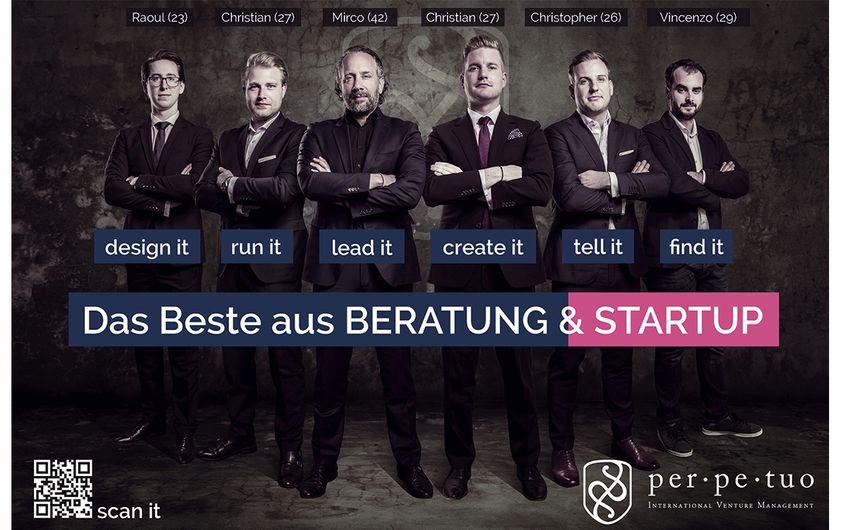 Perpetuo: Unternehmensaufbau als Geschäftsmodell
