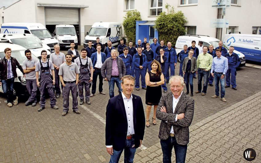 H. Schalm: Kühler Kopf im Anlagenbau