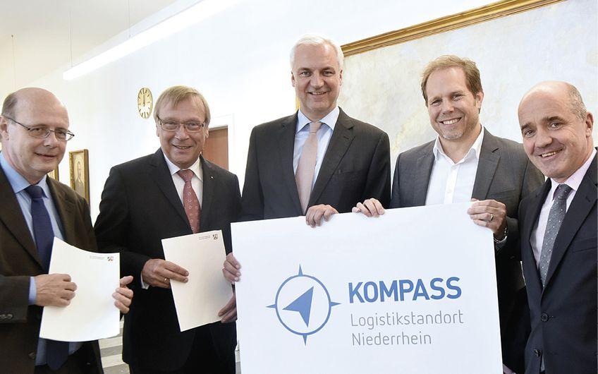 Fördermittel für  Logistikprojekt am Niederrhein