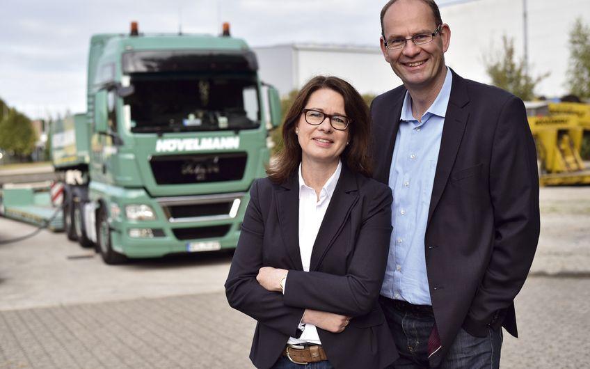 Ferdinand Hövelmann Spedition: Die Schwer-Transporter