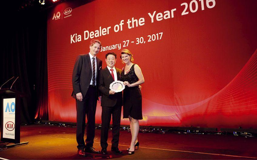 """Kia Global Dealer of the Year"""