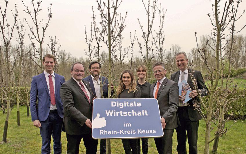 Rhein-Kreis Neuss: Jahresbericht der Wirtschaftsförderung
