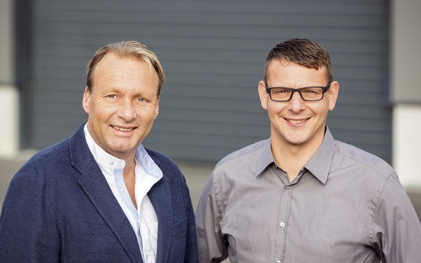 Die Geschäftsführer Werner Tellers und Ralf Küppers (v.l.) Foto: © Gebhard Bücker