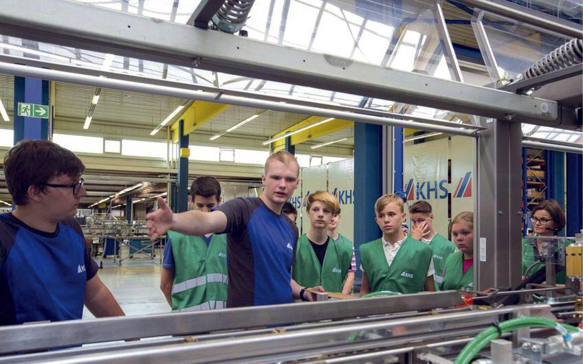 Niederrheinische IHK Duisburg-Wesel-Kleve zu Duisburg: Aktionstag zum Maschinenbau