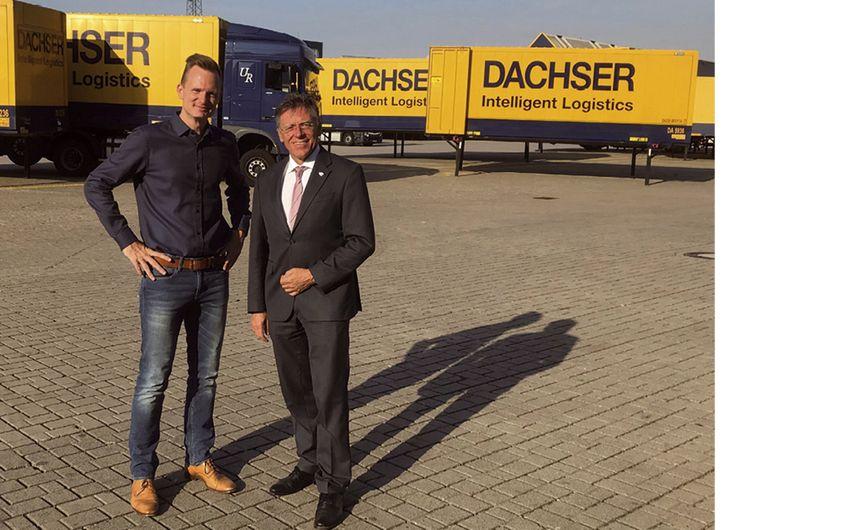 Rhein-Kreis Neuss: Landrat besuchte Dachser
